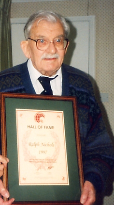Ralph nichols inducted into hall oof fame in 2008