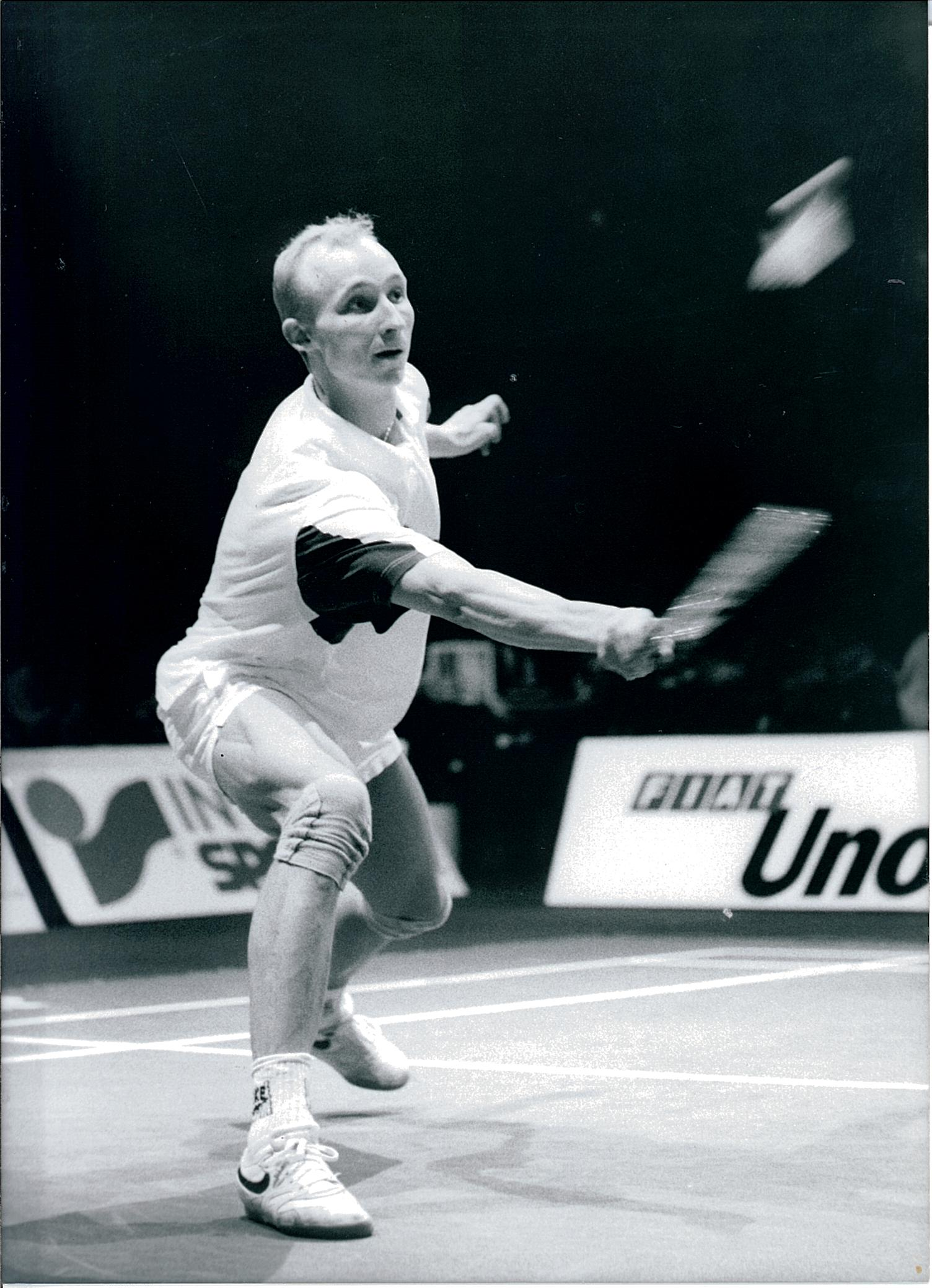 Denmarks thomas lund in action at the 1991 world championships