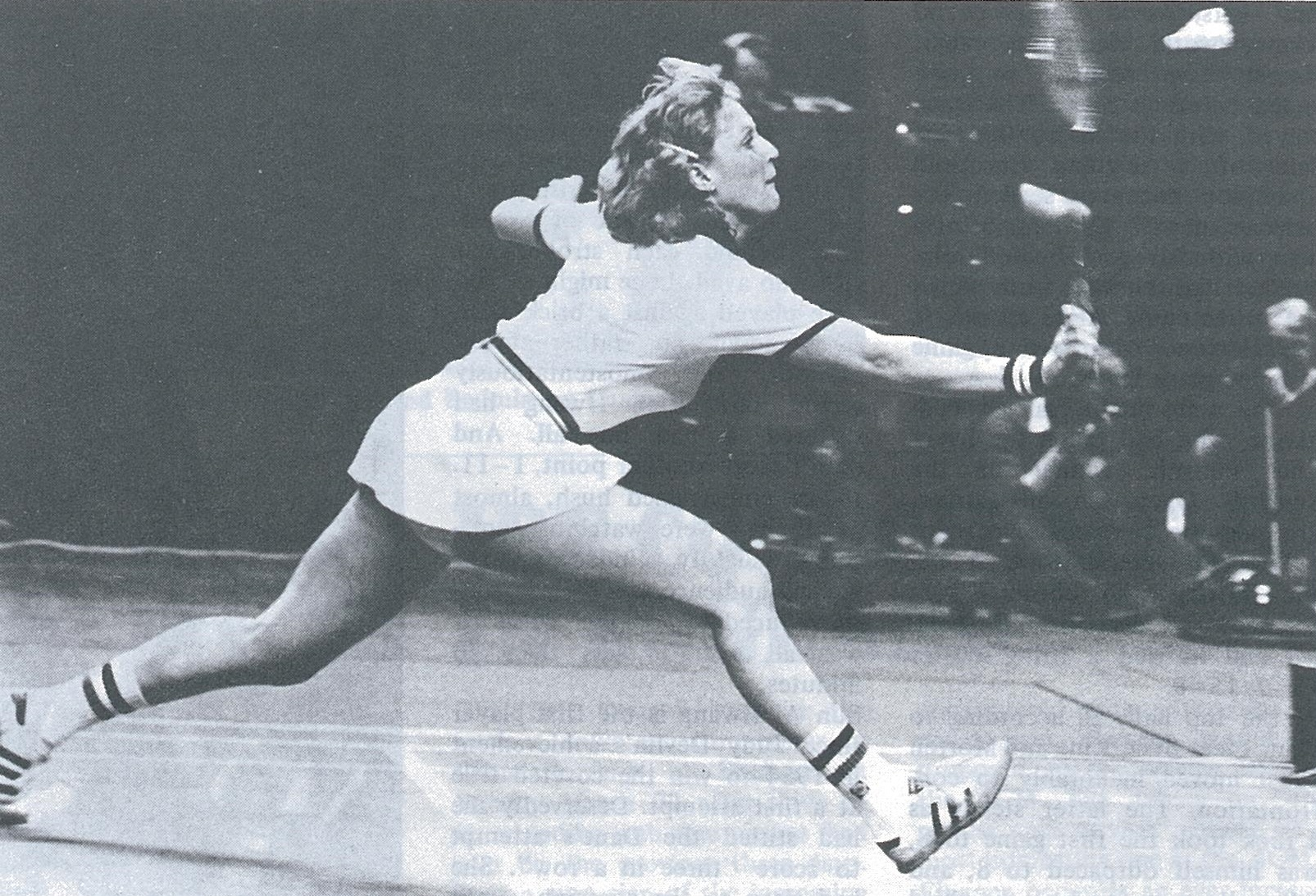 Nora perry - swedish open - wb june 1981 - pic by louis ross