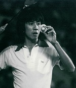 Rudy hartono of indonesia at 2nd world championships 1980 in jakarta