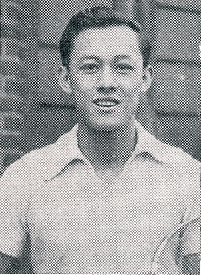 Eddy choong as he appeared in the march 1954 issue of bg