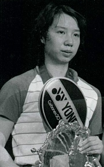 Han aiping - 1985 all england wd winner - pic by ulrich reddig
