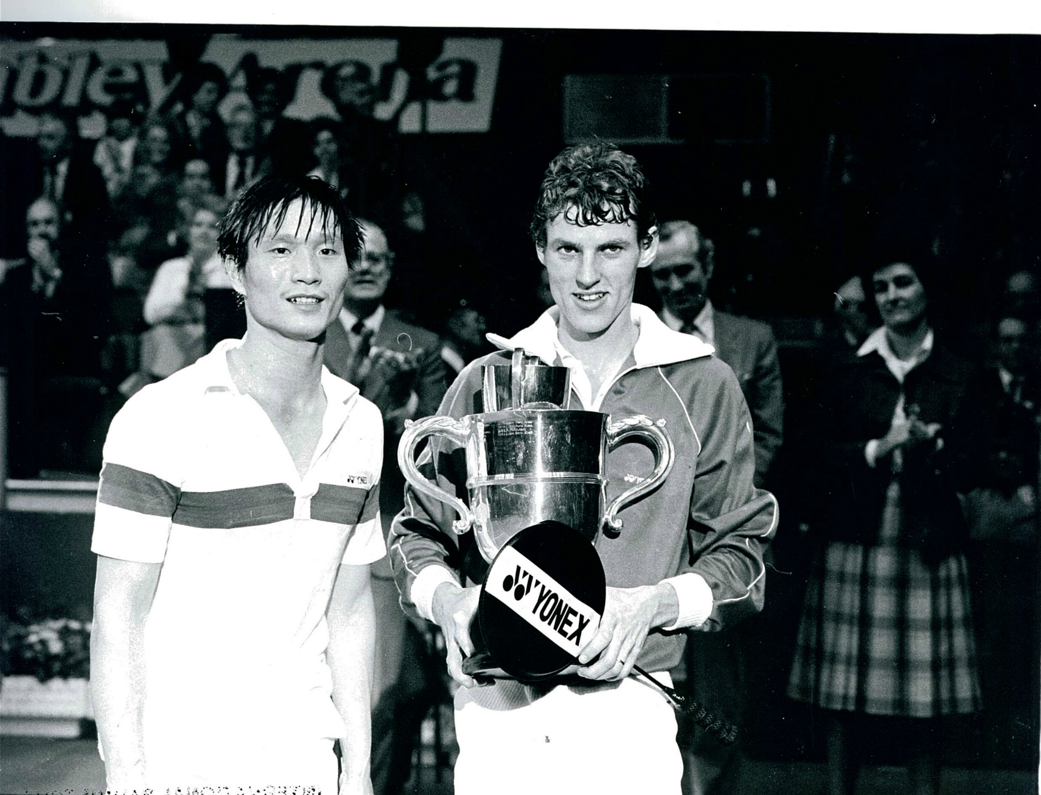 Morten frost winner of the 1982 all england singles over luan jin of china - pic by preben soborg