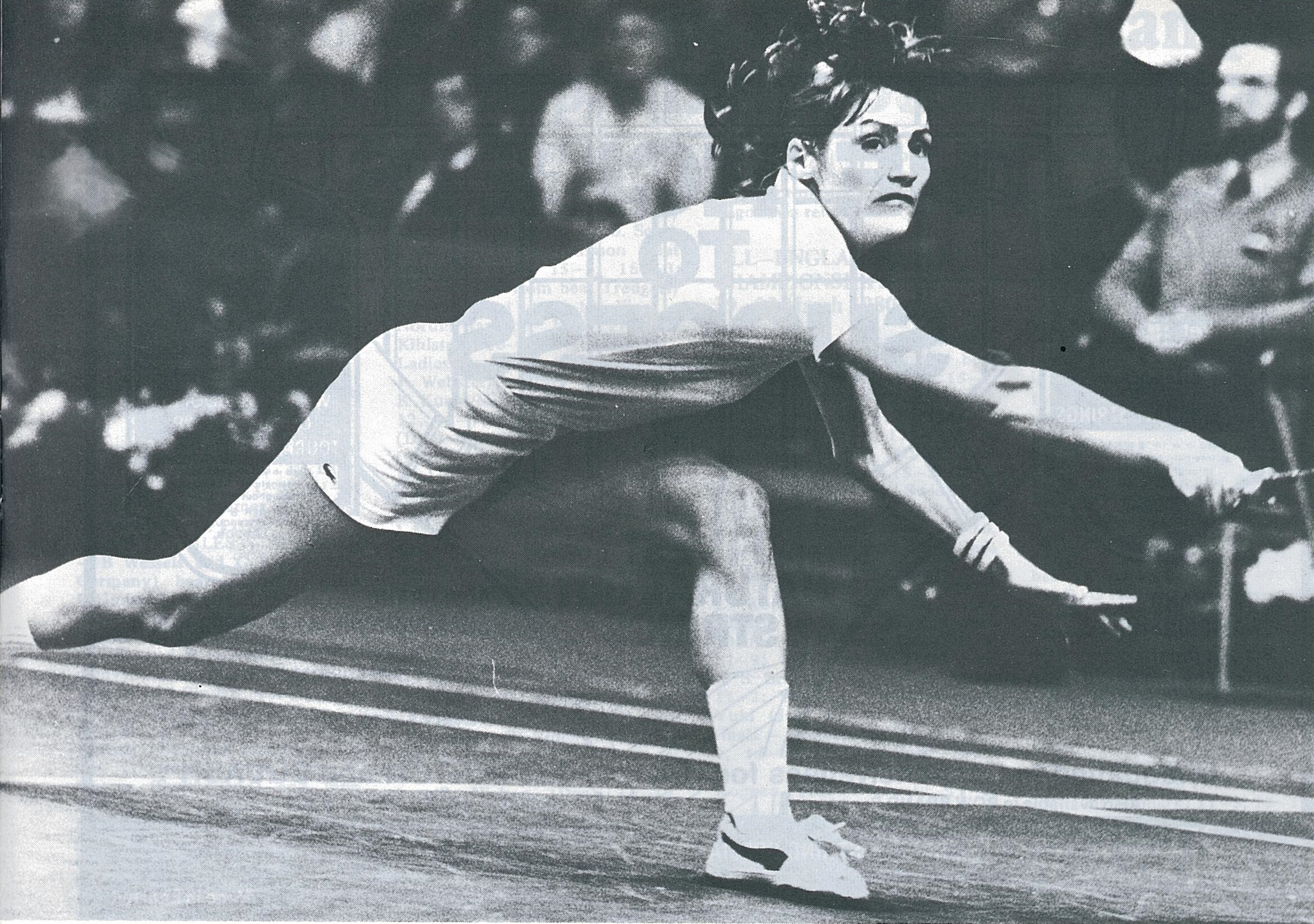 Lene koppen - all england - wb june 1980 - pic by preben soborg