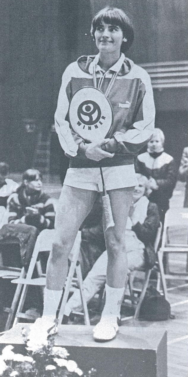 Lene koppen - wins 25th nordic title - wb mar 1982 - pic by tuomo tennila