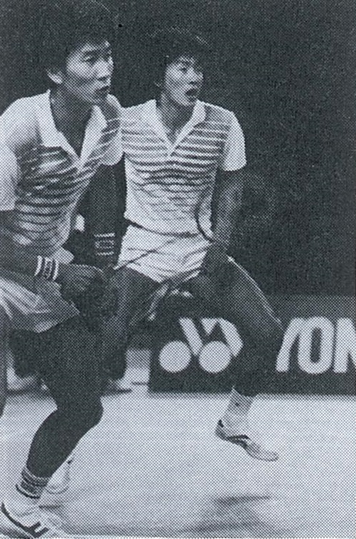 Park jb + kim ms win german open - wb june 1986 - pic by louis ross