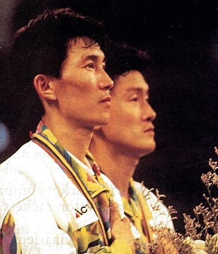 Park joo bong + kim  moon soo - 1992 barcelona olympic games md gold