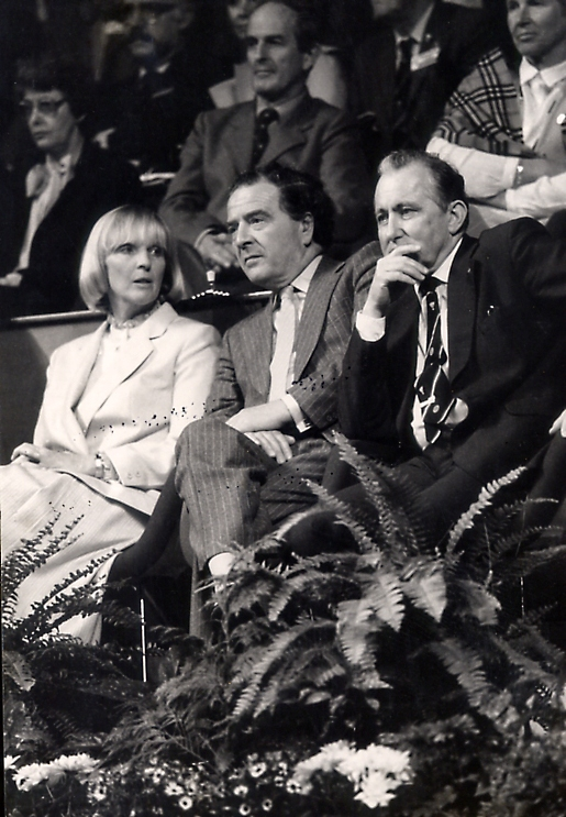 Stellan mohlin (r) at the 1983 all england championships - pic by louis ross