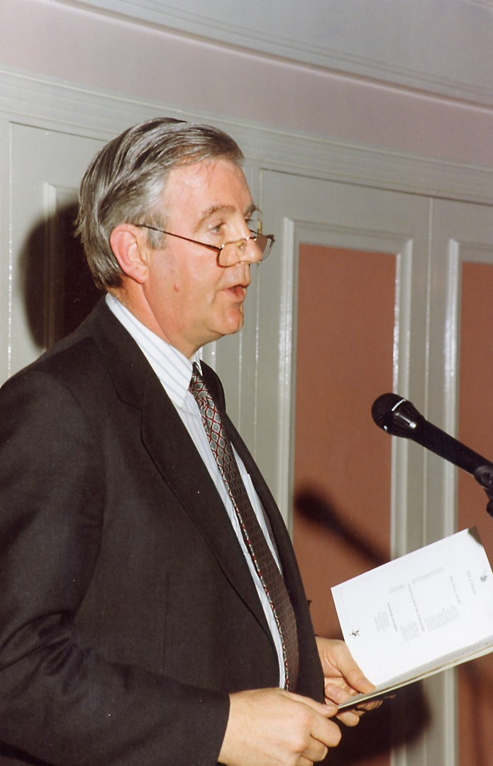 A 1994 picture of sir craig giving a speech - pic by peter richardson