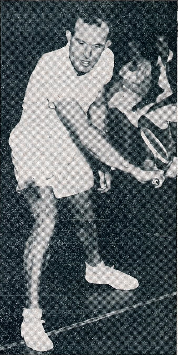 Je robson... 7 times new zealand ms champion - ibf handbook 1958-59