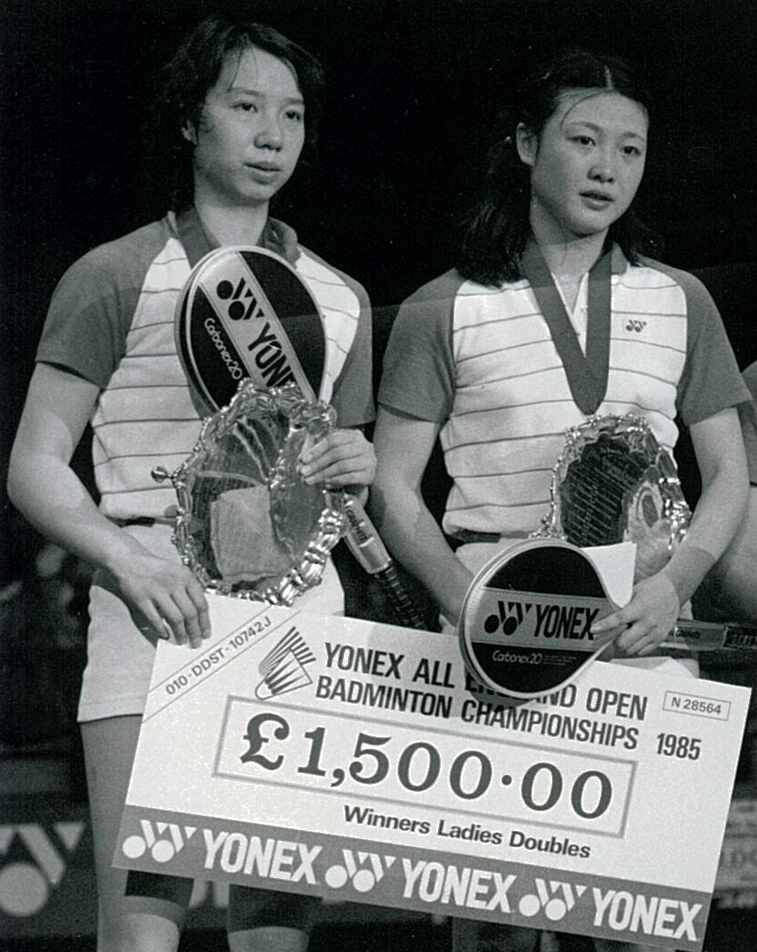 Han aiping (l) + li lingwei of china - all england wd winners - pic by ulrich reddig