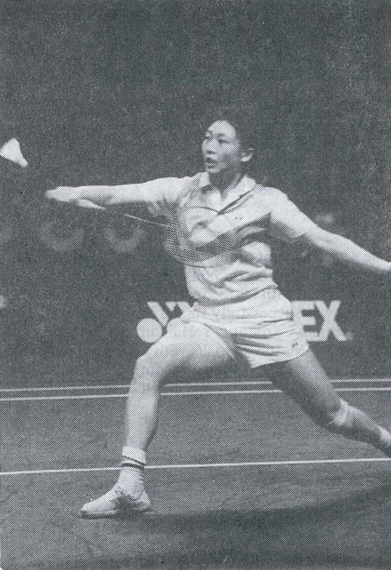 Li lingwei at 1989 world championships