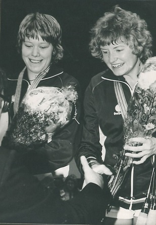 1982 picture of gillian clark and gillian gilks 308