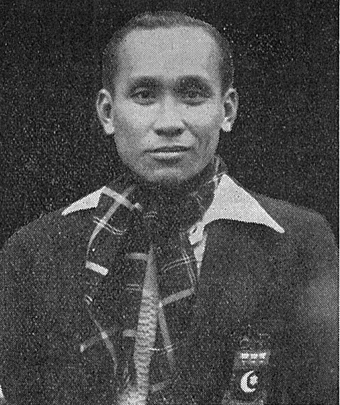 Ong poh lim - unsuccessful finalist in both mens events at 1951 all england - badminton gazette apr 1951.